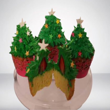 CC008 -Christmas 10 Cup Cake