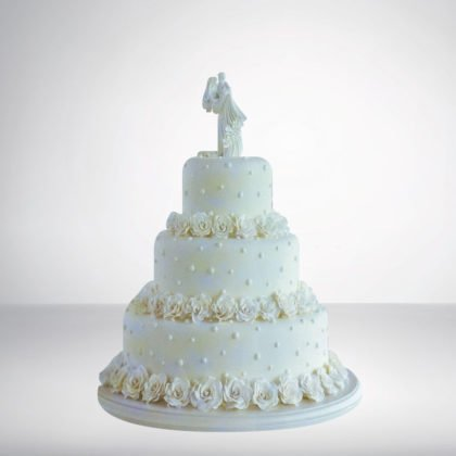 3 Tier Round Shape Cake