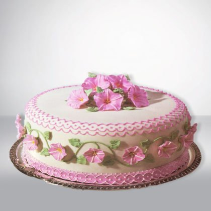 SC060- Flower Birthday Cake