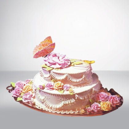 SC067- Flower Birthday Cake