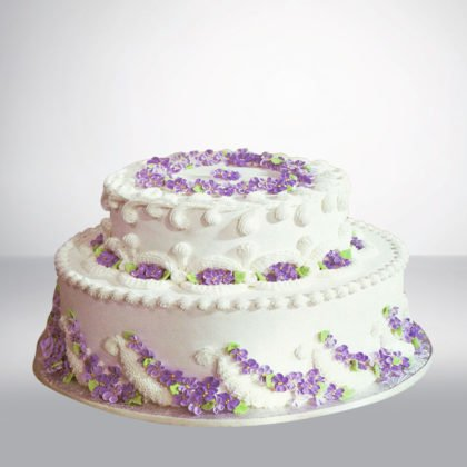 SC069- Flower Birthday Cake
