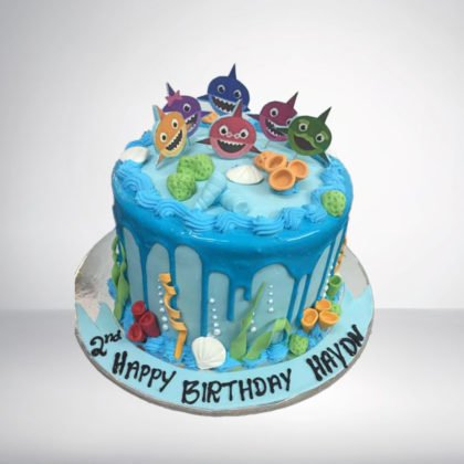 TC047-Sea Theme Cake