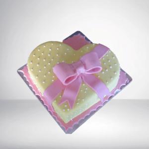 Fondant Valentine Cake