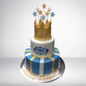 Crown Theme Cake for Boys