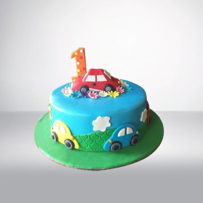 TC058 – Car Theme Cake