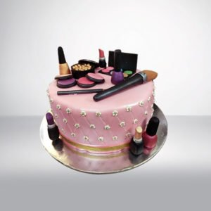 Make up Theme Cake