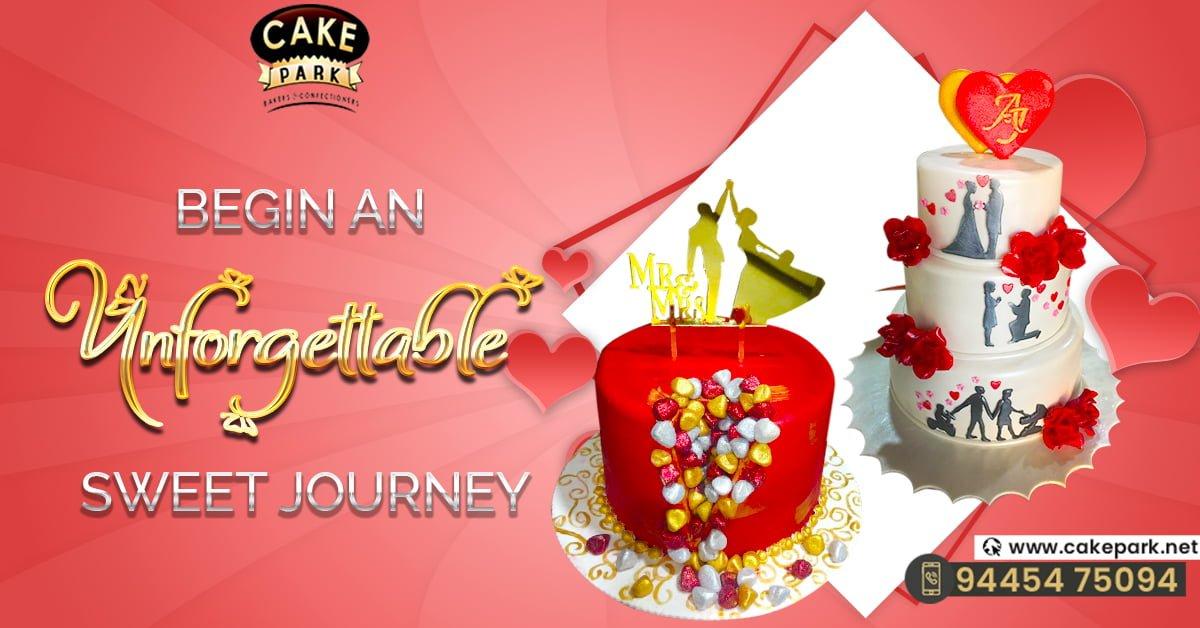 Wedding Cakes Chennai | Cake Park